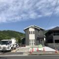 岩国市御庄で駐車場コンクリート工事